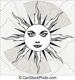 天, 太陽