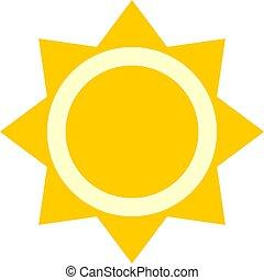 太陽, シンボル, すてきである