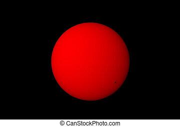 太陽, スポット