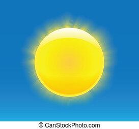 太陽, photorealistic