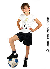 女の子, サッカー