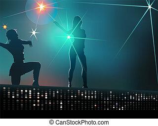 女の子, ダンス