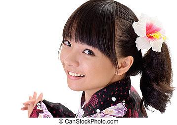 女の子, 日本語, 幸せ