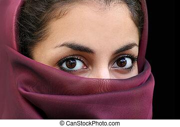 女の子, muslim