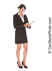 女性実業家, クリップボード