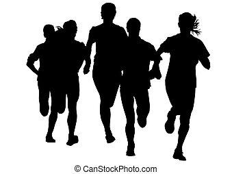女, 操業, スポーツ