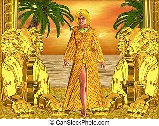 女, 皇族, エジプト人