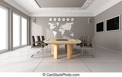 委員会部屋, 現代