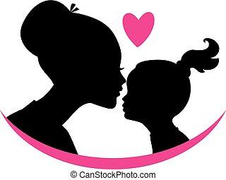 娘, 愛, お母さん