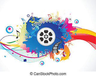 媒体, カラフルである, 爆発しなさい, 抽象的