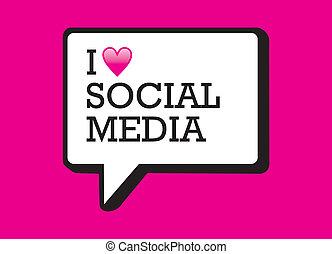 媒体, 泡, 愛, 社会