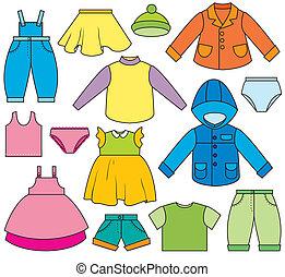 子供の衣類