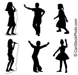 子供, 歌うこと, ダンス