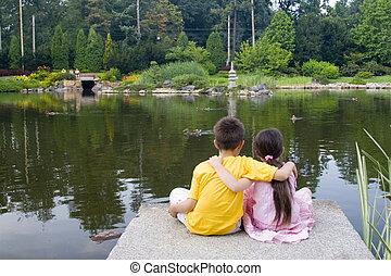 子供, 湖