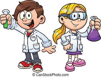 子供, 科学