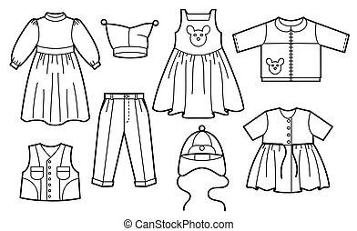 子供, 衣服