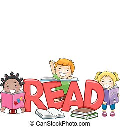子供, 読書