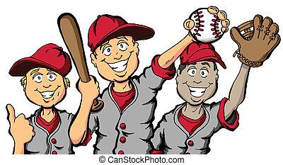 子供, 野球