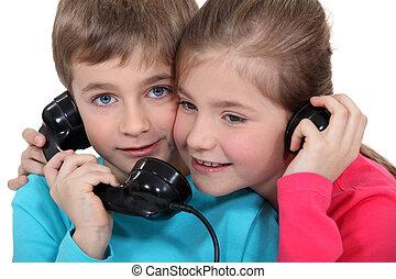 子供, 電話