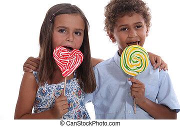 子供, lollipops