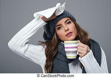 季節, 寒い, インフルエンザ