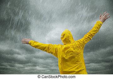 季節, 雨, 幸せ