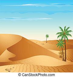 孤独, 砂漠