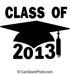 学校, 帽子, 卒業, 高く, 大学, クラス, 2013