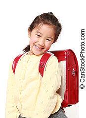 学校, 日本語, 女の子
