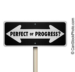 完全, 前方に, ポイントしている矢印, サイン, 進歩, ∥あるいは∥, 道