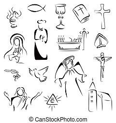 宗教, アイコン