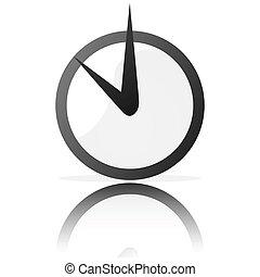 定型, 時計