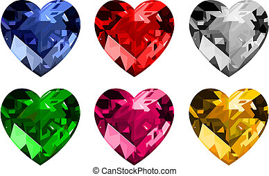 宝石類, _hearts