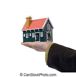 実質, 家, -, 財産, 手