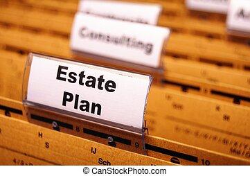 実質, 計画, 財産
