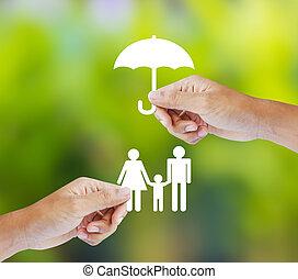 家族, 概念, 保険