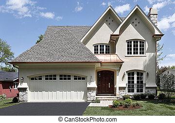 家, アーチ形にされる, 贅沢, 記入項目