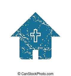 家, グランジ, キリスト教徒, アイコン
