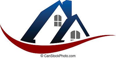 家, シンボル, 屋根