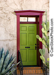 家, チューソン, ドア