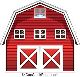 家, 赤い納屋
