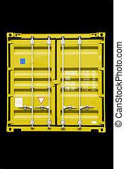 容器, 黄色
