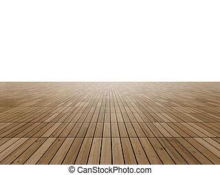 寄せ木張りの床, 地平線, 床