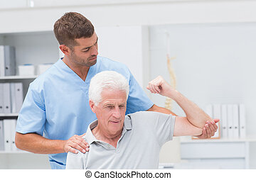 寄付, 健康診断, 人, 療法, 物理療法家