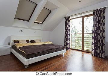 寝室, バルコニー