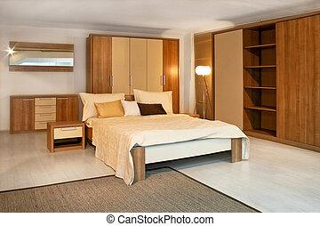 寝室, 2, 木製である