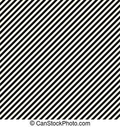 対角線, 黒, ペーパー, ストライプ, 白