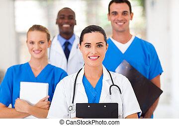 専門家, グループ, ヘルスケア