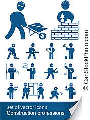 専門職, 建設