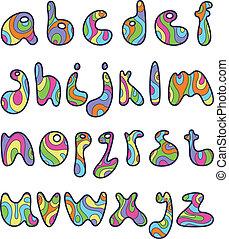 小さい, 手紙, psychedelic